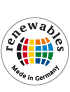 "Логотип ""Renewables Made in Germany"""